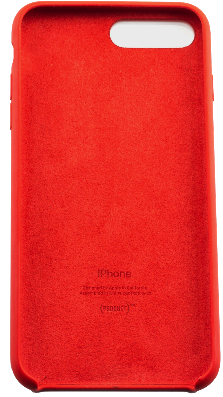 Caso Per Apple iPhone 7 7 Plus Rosso Custodia In Silicone per