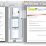 Unire più documenti PDF con Anteprima di Snow Leopard e successivi
