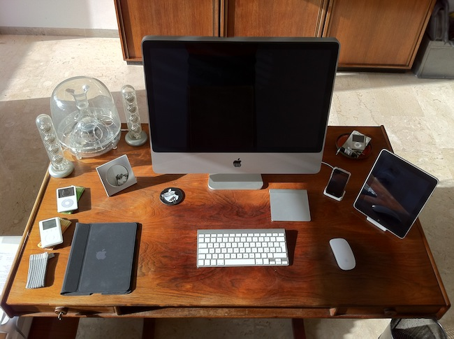 La mia postazione Mac : SPIDER-MAC