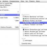 Snow Leopard: trovare i documenti e i software recentemente utilizzati