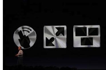 WWDC11 gestualita