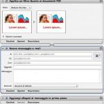 Come automatizzare la riduzione e l'invio di file in PDF