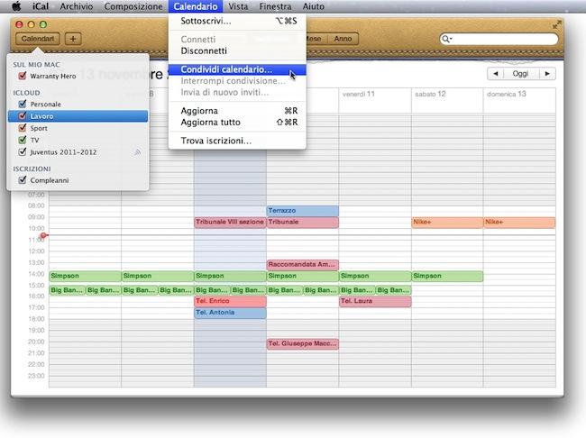 Calendario Icloud.Icloud Come Condividere I Calendari Con Mac Iphone E Ipad