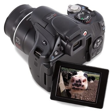 Canon PowerShot SX40 HS retro