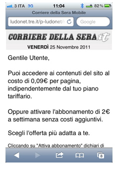 Corriere mobile