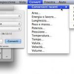 Le tre calcolatrici di Mac OS X