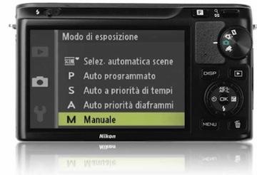 Nikon 1 J1 menu