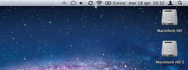 Hard Disk avvio Mac partizionato