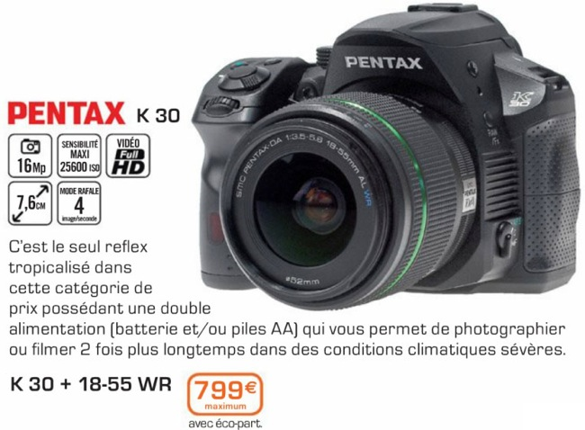 Pentax K30 picture