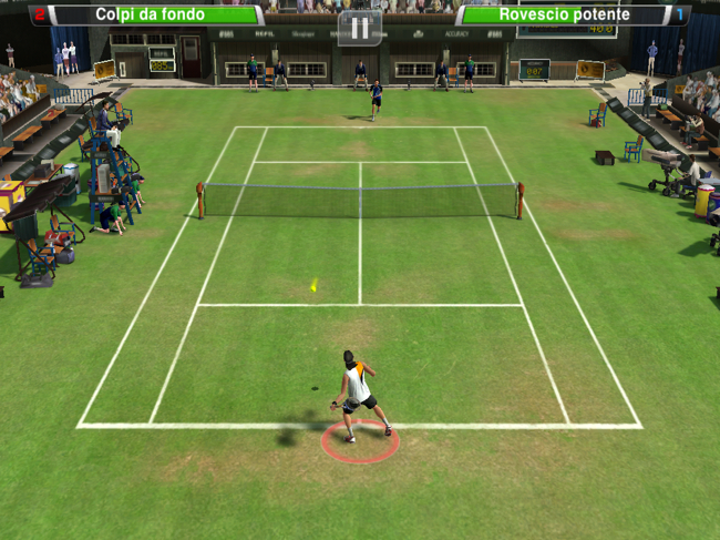 Virtua Tennis per iOS