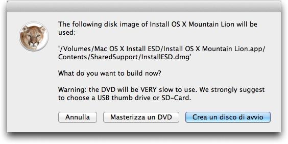 Copia bootable Mountain Lion