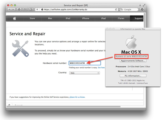 Mountain Lion requisiti hardware SNOW
