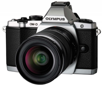 Olympus OM D E M5 frontale