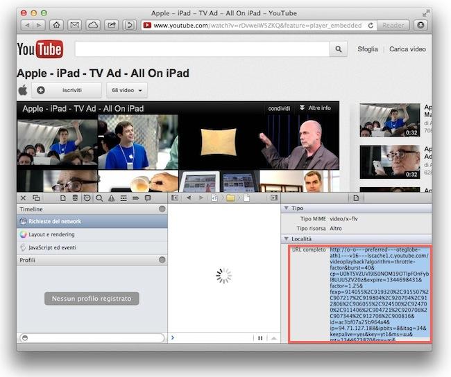Safari come scaricare video YouTube
