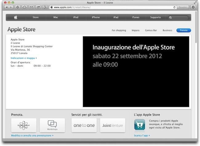 Apple Store Lonato Brescia
