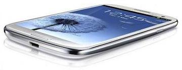 Galaxy S 3 bianco