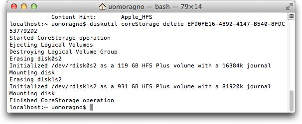 Dividere Fusion Drive Mac 2