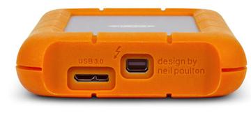 LaCie Rugged USB3 Tunderbolt porte