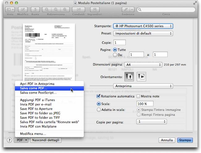 Moduli PDF Antperima salva PDF