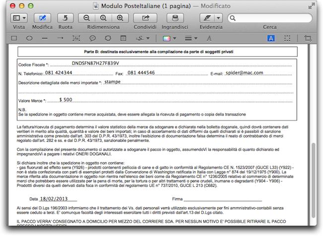 Moduli PDF Antperima