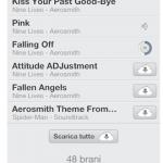 Scaricare una singola canzone di iTunes Match da iPhone e iPad