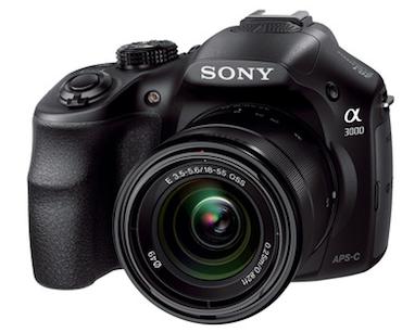 Sony Alpha 3000 Sfida La Nikon D3100 E La Canon 600d