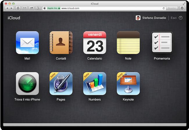IWork per iCloud