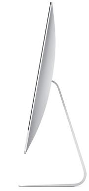 Recensione iMac 2013 laterale