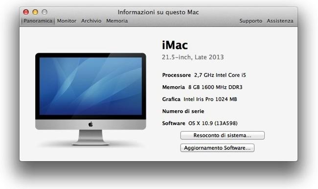 Recensione iMac late 2013
