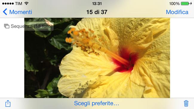 Recensione iPhone 5s brust preferite
