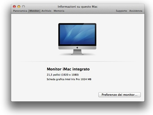 IMac 21 Haswell 2 7GHz entry level