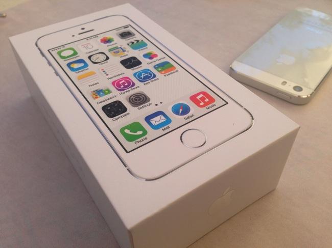 IPhone5s confezione