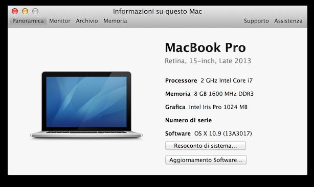 Recensione MacBook Pro Retina 15 2GHz