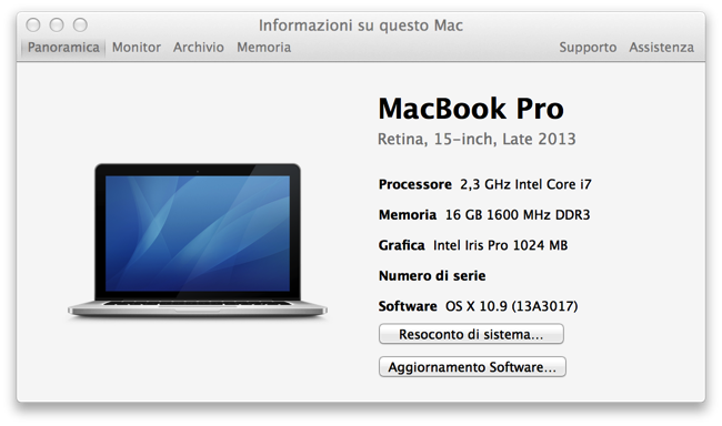 Recensione MacBook Pro retina 15 2 3GHz