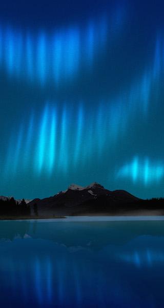 Due spettacolari foto dell aurora boreale come sfondi for Sfondi spettacolari hd