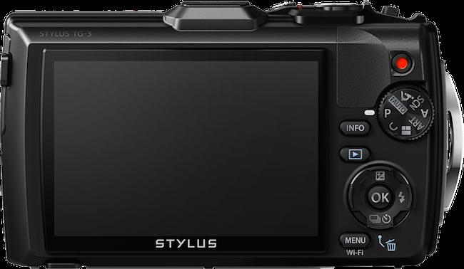 Olympus Stylus Tough TG 3 retro