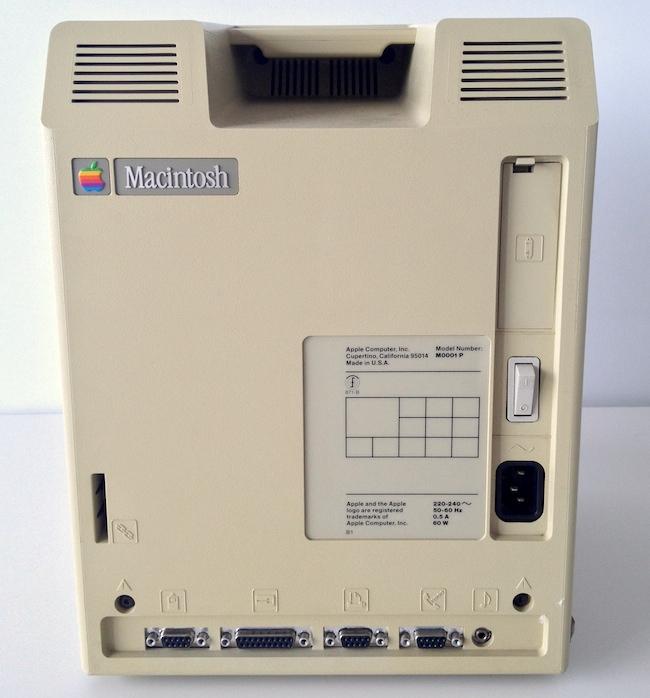 Macintosh 128K retro
