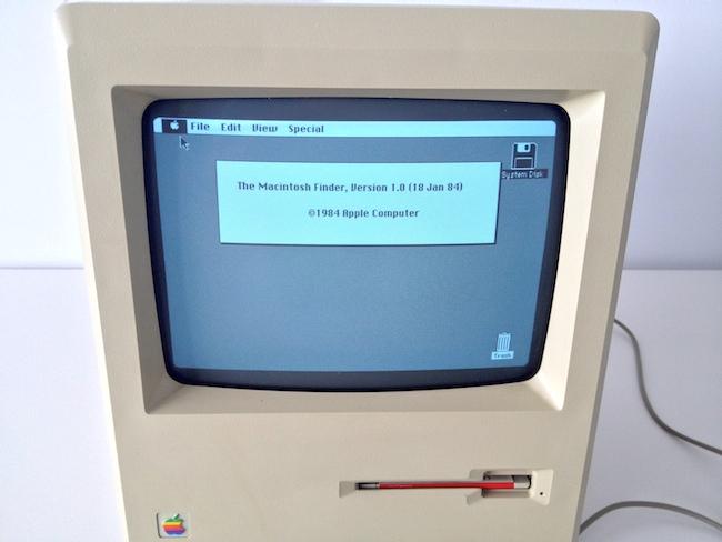 Macintosh 128k Finder