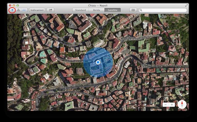 Mappe Mavericks Localizzazione