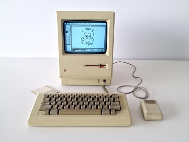 Macintosh 128K MacPaint