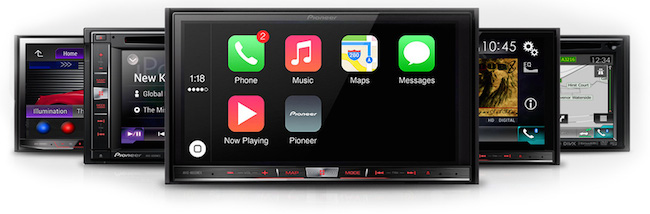 Compatible Pioneer CarPlay