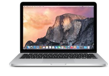 MacBook Pro 13 Retina 2015 370