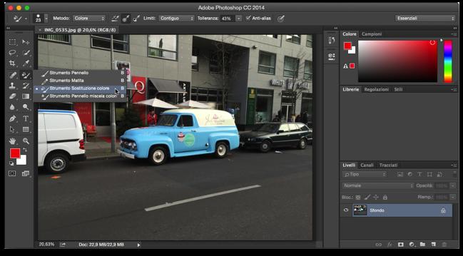 Photoshop sostituzione colore 003