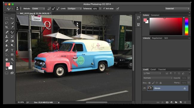 Photoshop sostituzione colore 004