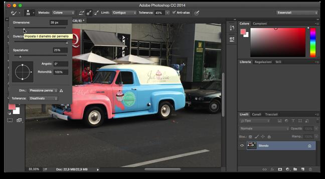 Photoshop sostituzione colore 005