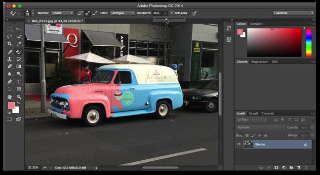 Photoshop sostituzione colore 006