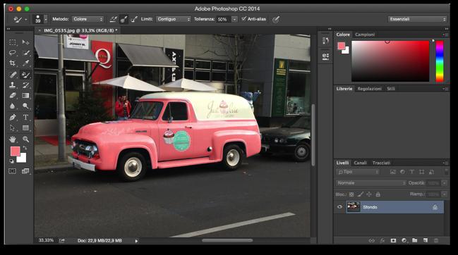 Photoshop sostituzione colore 007