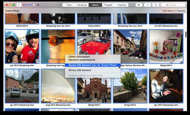 copiare foto da iphone a mac senza iphoto