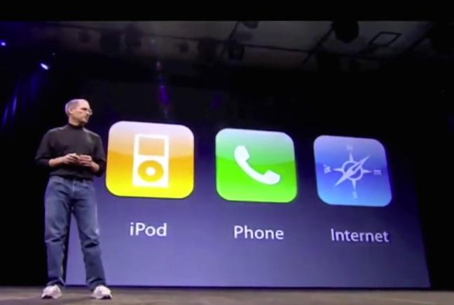 2007 Steve Jobs iPhone