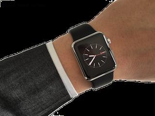 Apple Watch 38 mm inox1
